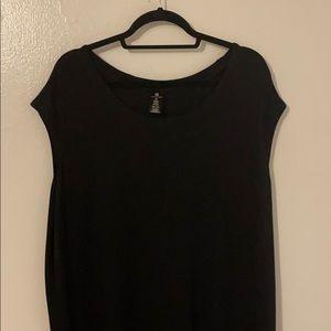Black active wear dress
